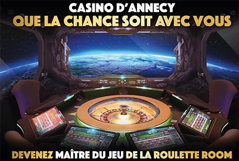 """Une """"Roulette Room"""" arrive au Casino !"""