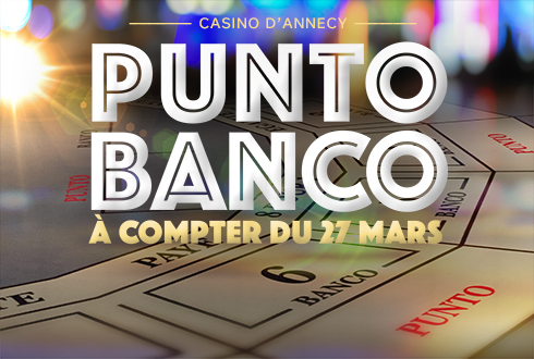 Le Punto Banco au Casino Impérial