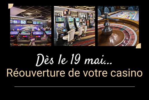 Réouverture du Casino d