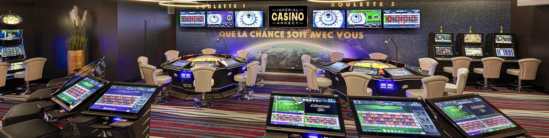 Roulette Room du Casino Impérial Annecy